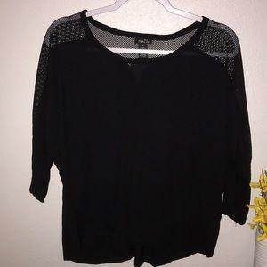 Black Rue21 Top size XL